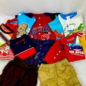 Lot of boy's 2T clothing summer (13ct)